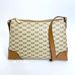 Michael Kors Crosby Medium Crossbody Messenger Bag